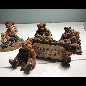 Boyd Bears Bearstone and Dollstone Collection Lot